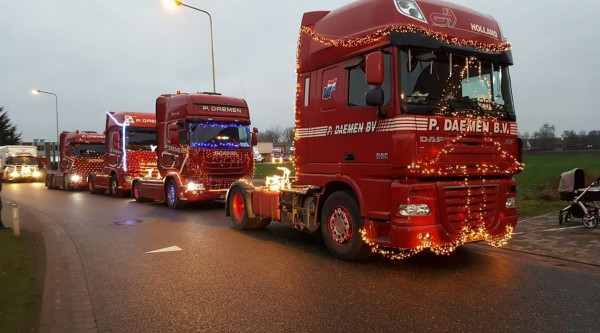 Christmas Truckrun Wall of fame : 2017